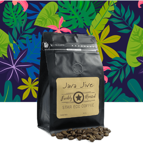 Eco Star fresh coffee - Java Jive