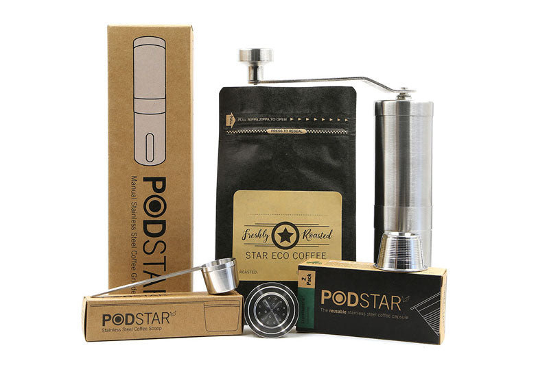 Pod Star Re-susable coffee capsules