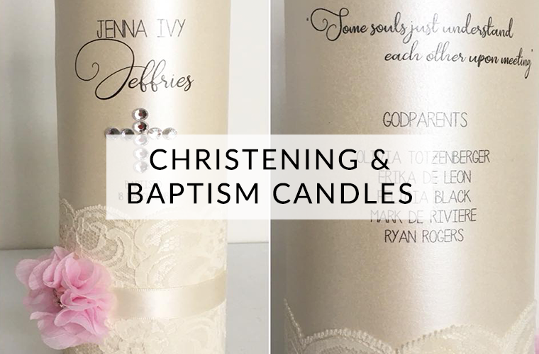 Christening and Baptism Candles