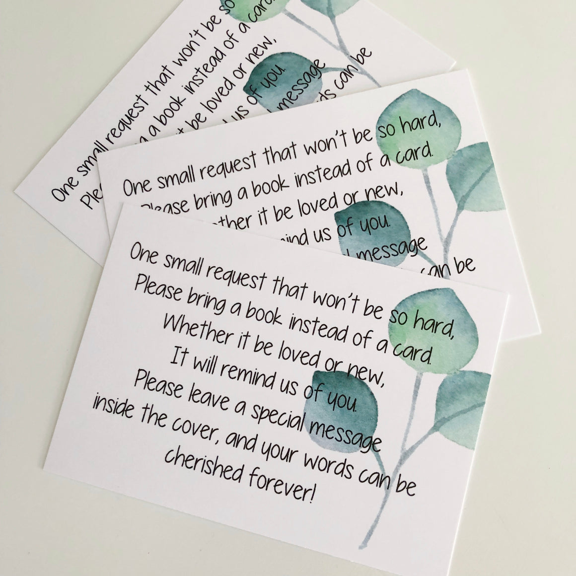 Baby Shower Gift Cards