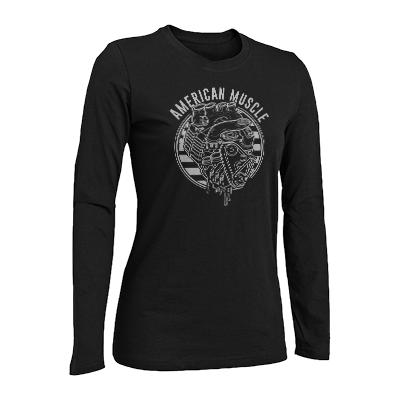 American Muscle Long Sleeve Tee