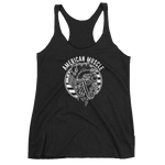 White American Muscle Racerback Tank