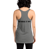 Basic Check It Off Women's Racerback Tank