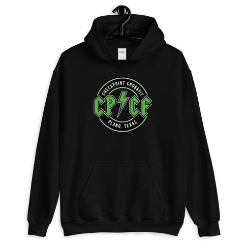 Green Check It Off Hoodie