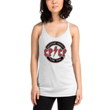 Red Check It Off Women's Racerback Tank