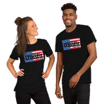 Checkpoint Crossfit American Flag Unisex Tee