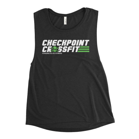 Option 2: Women's Green Muscle Tank