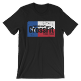 Checkpoint Crossfit Texas Flag Unisex Tee