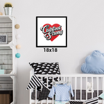 Clubfoot Strong Framed Print