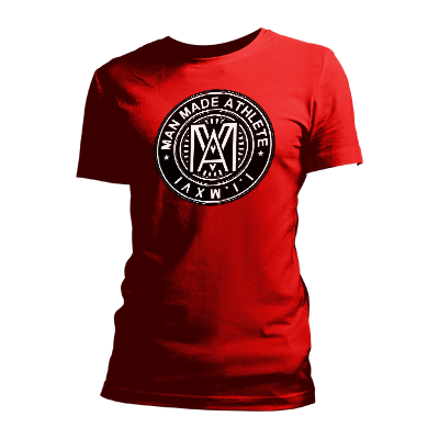 Man Made Seal Red Unisex Tee