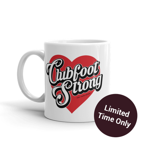 Clubfoot Strong 11oz Coffee Mug