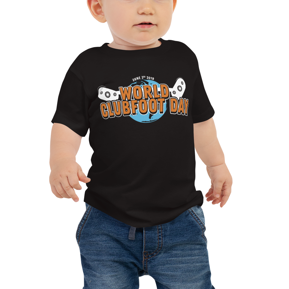 World Clubfoot Day Baby Tee Iii Man Made Athlete