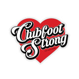 Clubfoot Strong Sticker