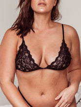 Load image into Gallery viewer, AMALIA BRALETTE | black