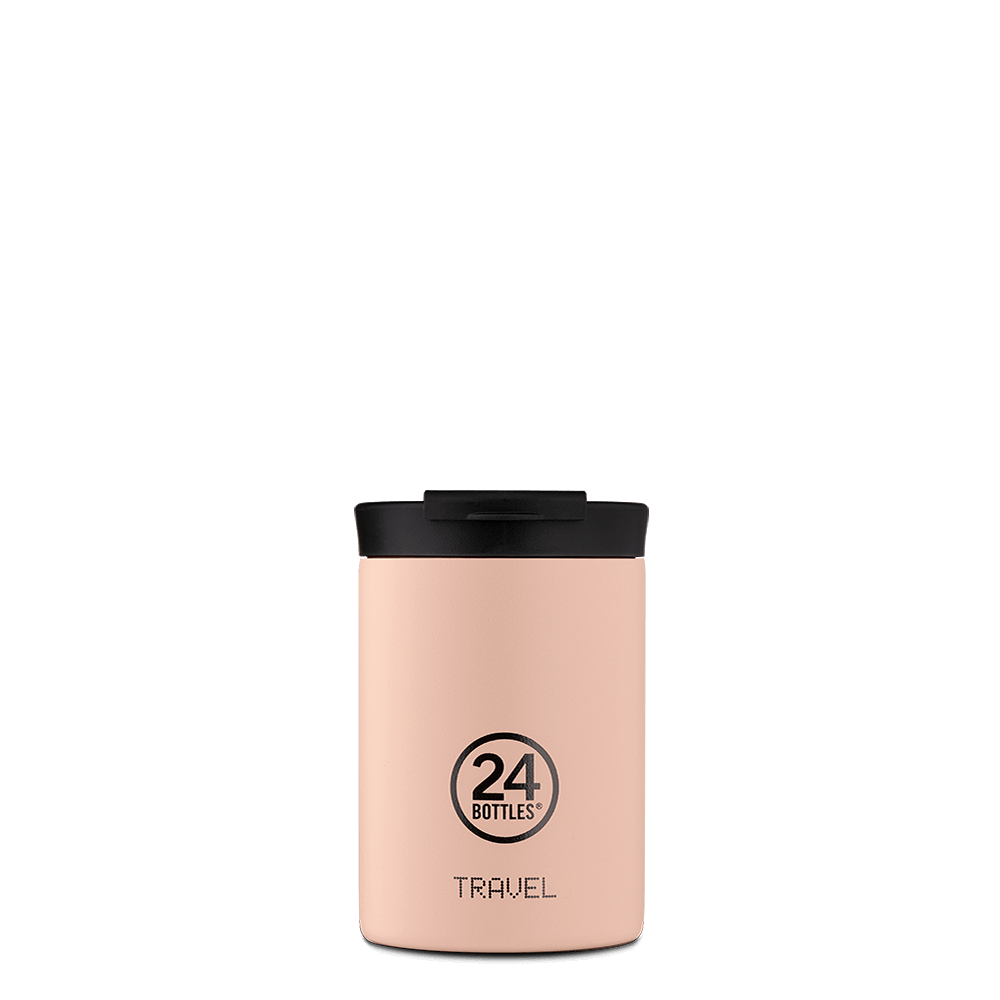 24 Bottles Dusty Pink Travel Tumbler - Kate's Kitchen
