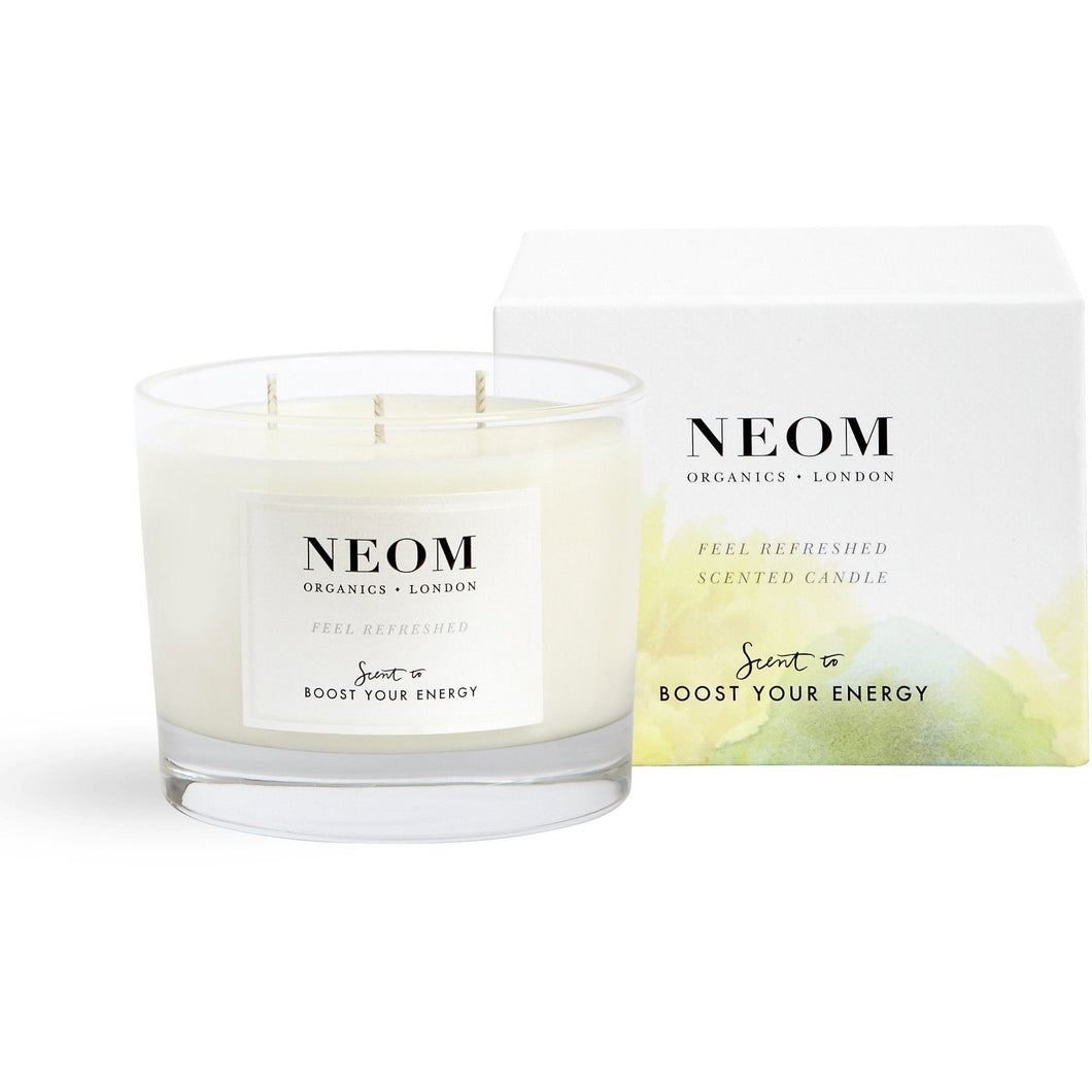 Neom Organics - Feel Refreshed Scented Candle (3 Wick) - Kate's Kitchen