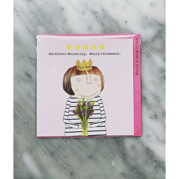 """5 Star"" Mothers Day Card - Kate's Kitchen"