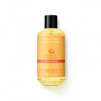 Crabtree & Evelyn - Citron & Coriander Body Wash - Kates Kitchen