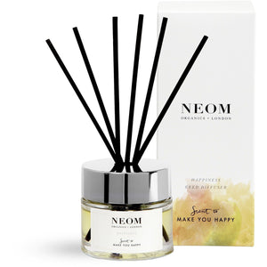 Neom Organics - Happiness Reed Diffuser - Kate's Kitchen