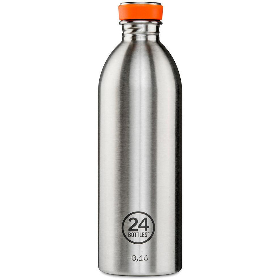 24 Bottles Urban Steel 1ltr - Kate's Kitchen