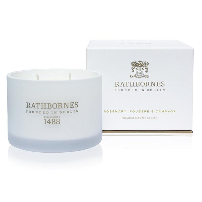 Rathbornes - Scented Candle - Rosemary, Fougere & Camphor - Kates Kitchen