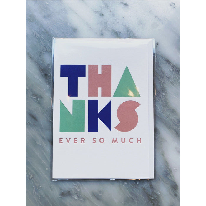"""A Thank You"" Gift Card - Kate's Kitchen"