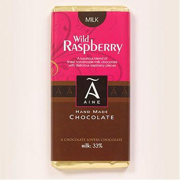 Aines Dark Chocolate Raspberry Bar - Kate's Kitchen