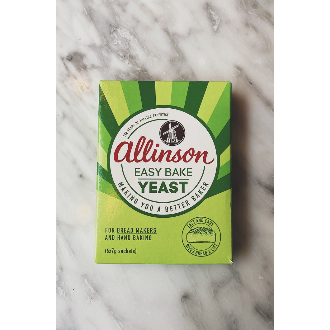 Allinson Easy Bake Yeast - Kate's Kitchen