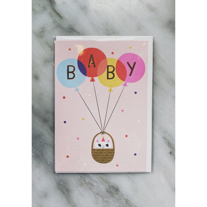 Baby Balloon Card - Kate's Kitchen
