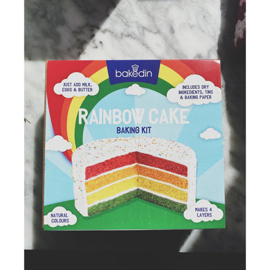 Bakedin Rainbow Cake Kit - Kate's Kitchen