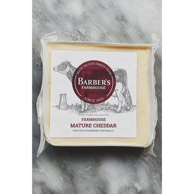 Barbers Farmhouse Mature Cheddar - Kate's Kitchen