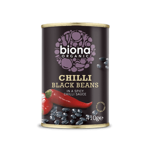 Biona Organic Chilli Black Beans - Kate's Kitchen