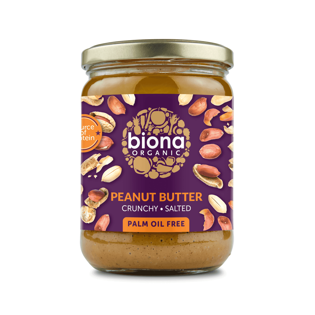Biona Organic Crunchy Peanut butter - Kate's Kitchen