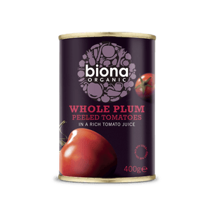 Biona Organic Plum Tomato - Kate's Kitchen