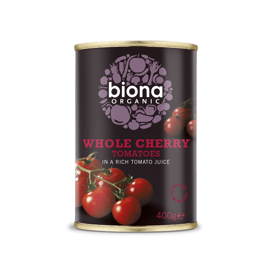 Biona Organic Whole Cherry Tomato - Kate's Kitchen