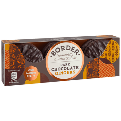 Borders Dark Chocolate Gingers - Kate's Kitchen