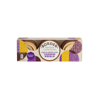 Borders Viennese Whirls - Kate's Kitchen