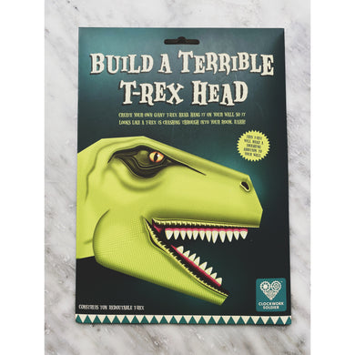 Build a Terrible T Rex Head - Kate's Kitchen
