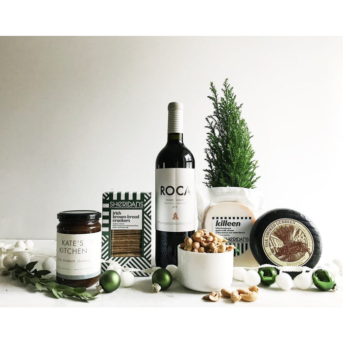 Christmas Cheers to Cheese and Wine Gift Hamper