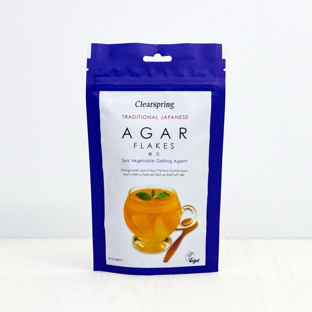 Clearspring Organic Agar Flakes - Kate's Kitchen