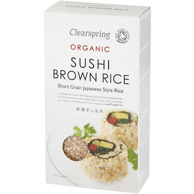 Clearspring Organic Brown Sushi Rice - Kate's Kitchen