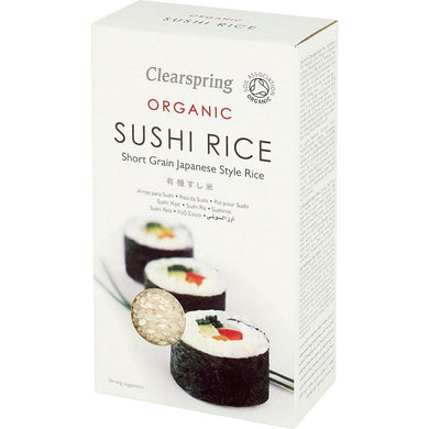 Clearspring Organic Sushi Rice - Kate's Kitchen