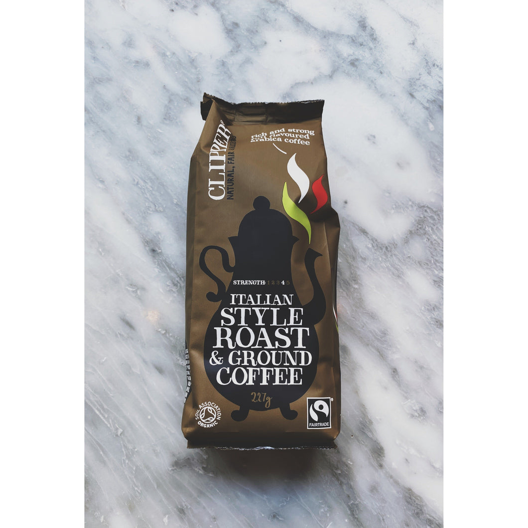 Clipper Italian Ground Coffee - Kate's Kitchen