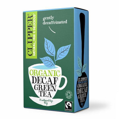 Clipper Organic Decaf Green Teabags - Kate's Kitchen