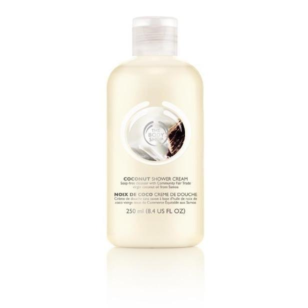 The Body Shop Coconut Bath & Shower Cream - Kate's Kitchen