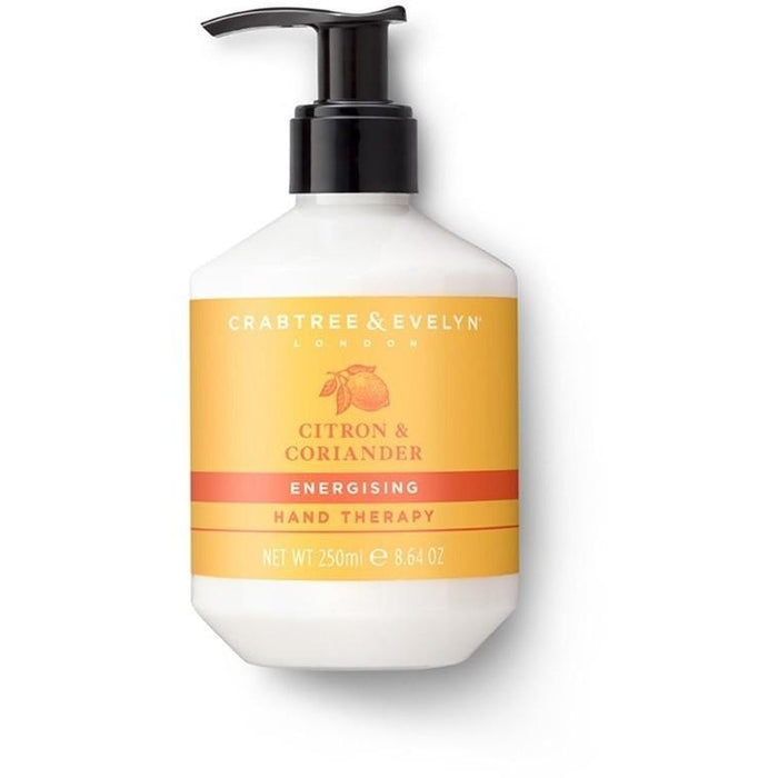 Crabtree & Evelyn Citron Coriander Hand Therapy 250ml - Kate's Kitchen