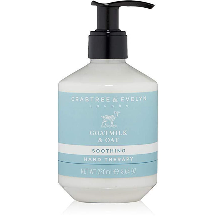 Crabtree & Evelyn  Goatmilk & Oat Soothing Hand Therapy 250ml - Kate's Kitchen