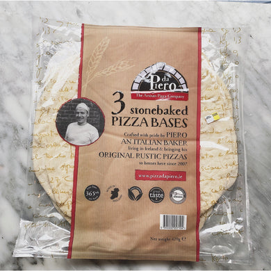 Da Piero Pizza Bases (3pack) - Kate's Kitchen