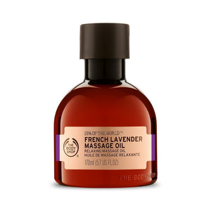 The Body Shop Spa Of The World French Lavender Massage Oil - Kate's Kitchen