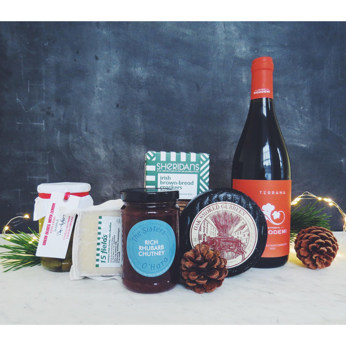 Merry Merry Cheese & Wine Hamper